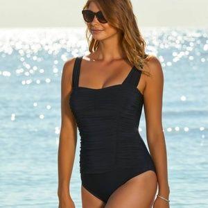 NWOT Aqua Green One Piece Swimsuit Size M